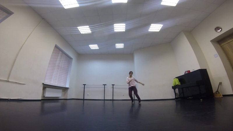 House dance practice