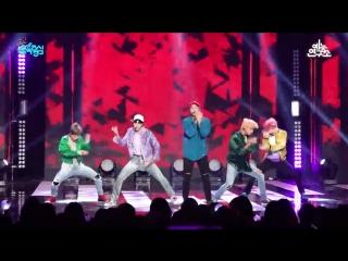 FANCAM 180908 BTS - I'm Fine @ Music Core