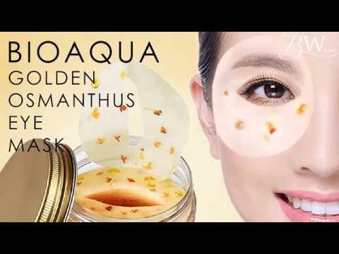 BIOAQUA 80 pcs Eye Skin Care Golden Osmanthus Collagen