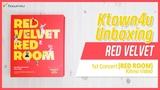 #Ktown4u #Unboxing #REDVELVET - 1st Concert RED ROOM Kihno Video