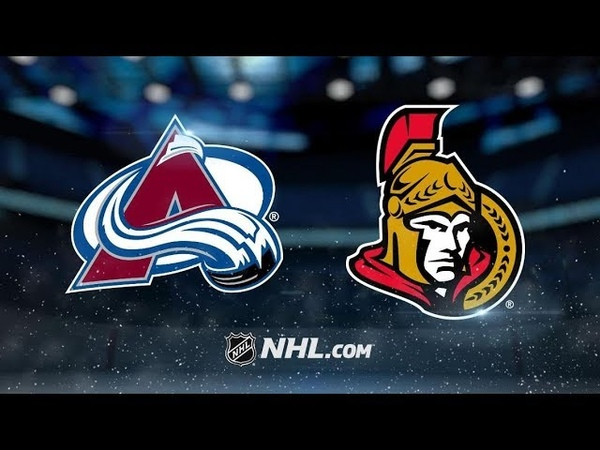 Colorado Avalanche vs Ottawa Senators   Jan.16, 2019