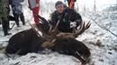 Охота на лося 2018 Селькин пруд