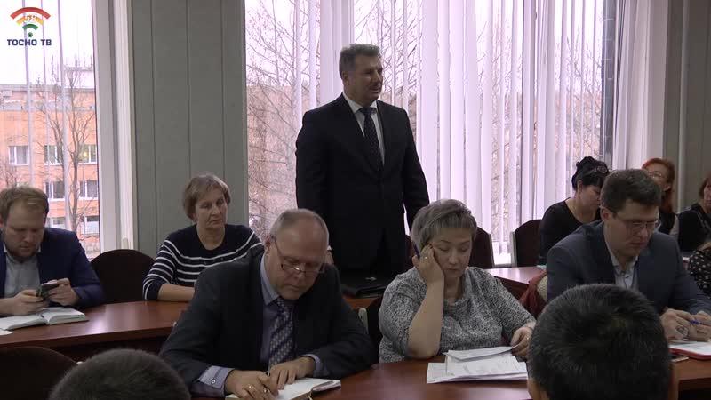В администрации района представили и.о. главного врача Тосненской КМБ - Сурмиевича Павла Евгеньевича