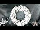 DIY Kranz basteln aus Pistazienschalen – how to make a wreath – upcycling – sehr einfach