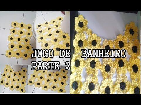 JOGO DE BANHEIRO PARTE 2| FLOR DE FUXICO artesanatos diy