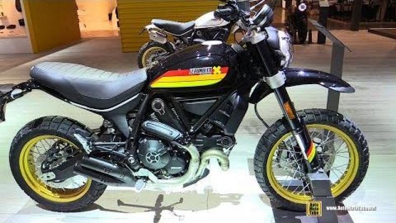 2018 Ducati Scrambler Desert Sled - Walkaround - 2017 EICMA Milan Motorcycle Exhibition