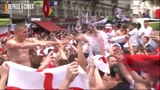 England fans Russia 2018