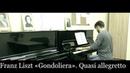 Ferenc Liszt Gondoliera. Quasi allegretto