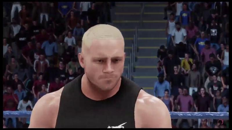 WWE 2K19 Crash Holly vs Raven Smackdown '00 Falls Count Anywhere