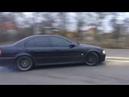Одесса, легкий дрифт на BMW M5 e39 BMW m5 drift v8 s62