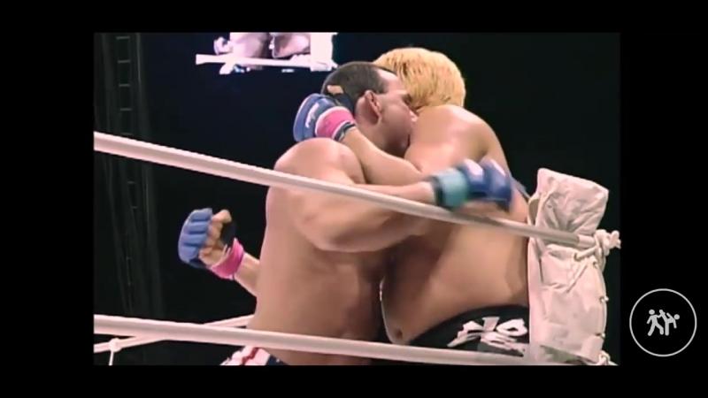 Don Frye vs Yoshihiro Takayama Highlights