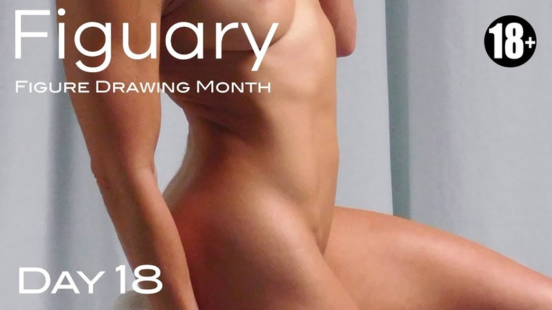 FIGUARY Figure Drawing Month—DAY 18