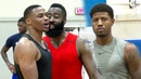 Russell Westbrook, James Harden Paul George Go At It At Rico Hines UCLA Run