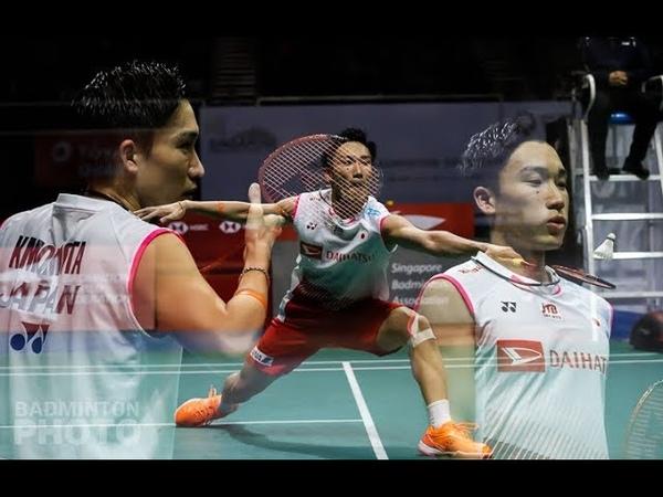 2019 Singapore Open MS final - badminton Highlights | Momota vs Ginting