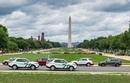 С солнечным небом в Вашингтоне(