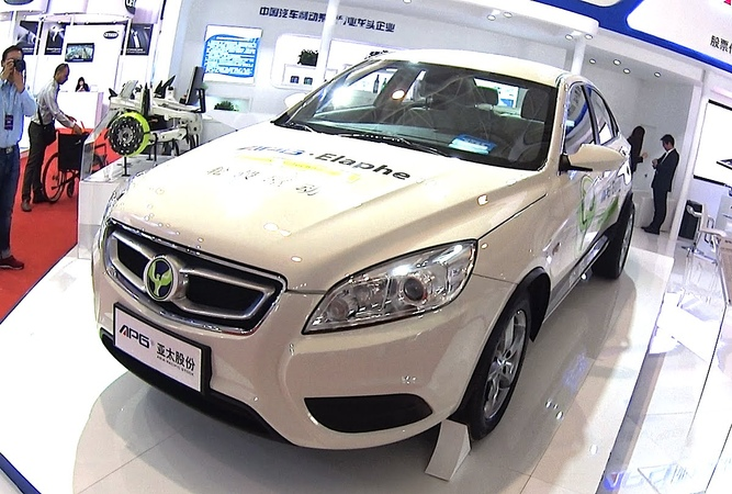 Chinese EV vehicle Propulsion technologies, Qiantu APG