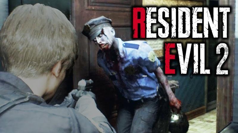 ПОЛНОЕ ПРОХОЖДЕНИЕ (Resident Evil 2: 1-Shot Demo)