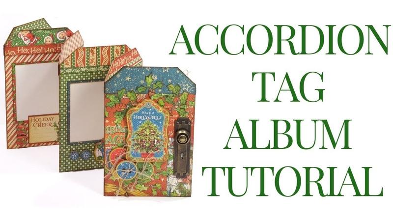 [Tutorial] Accordion Tag Album: Club G45 Vol 10 Featuring Christmas Magic