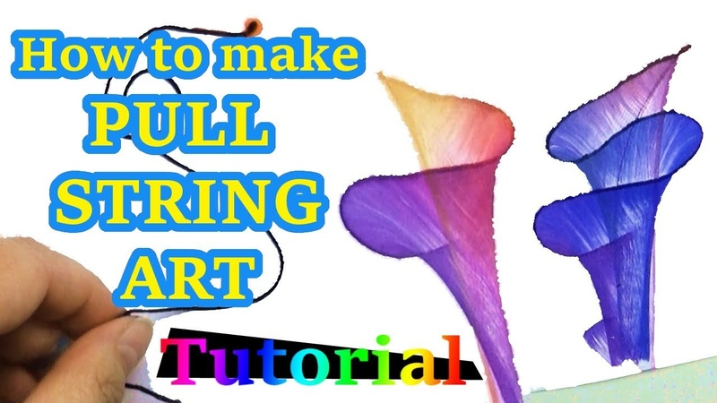 Pull String Art Tutorial Fun for any age!