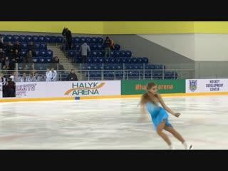 Елена Радионова, выступление в Алматы 7.11.18