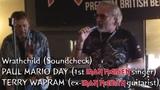 Paul Mario Day &amp Terry Wapram (ex-Iron Maiden) - Wrathchild (Soundcheck at Cart &amp Horses)