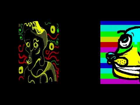 DiHalt Summer 2018 ZX Spectrum GFX конкурс Russia Federation