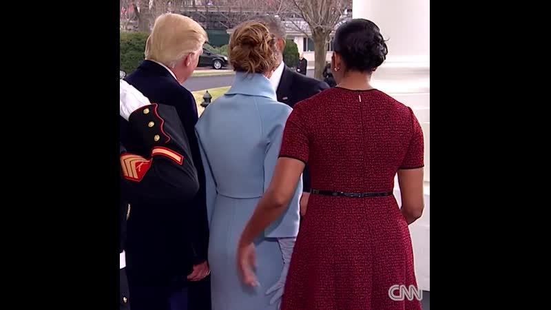 США-!-Обама-Трамп перадача Власти-!