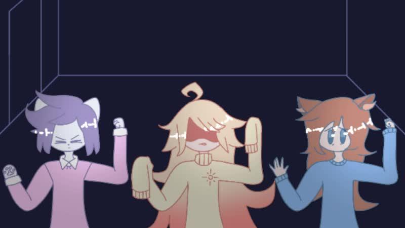 Школа Аниматоров  коллаб (Мирби, Кимико, Muzy Frile, COLHEWKO)