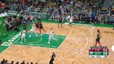 Boston Celtics on Instagram Hayward runs the break and finishes the and-one reverse!