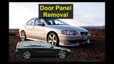 Door panel removal, Volvo V70, XC70, S60, S80, etc.
