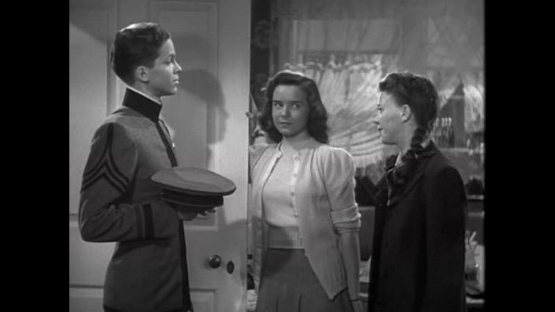 МАЙОР И МАЛЮТКА (1942) - мелодрама, комедия. Билли Уайлдер 720p