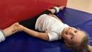 VLOG Папина тренировка и холодная растяжка Daddy's training and cold stretching