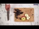 Компот из яблок и синего базилика от iCook™