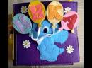 Развивающая книга из фетра для девочки Ники Quiet book, Developing books for children/ kids/ toddlers/ preschoolers.