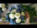 Мастерская Альфии 🌸 собираем композицию из синей гортензии, белых пионов, лаванды и эвкалипта