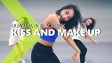 Dua Lipa &amp BLACKPINK - Kiss and Make Up HAZEL Choreography.
