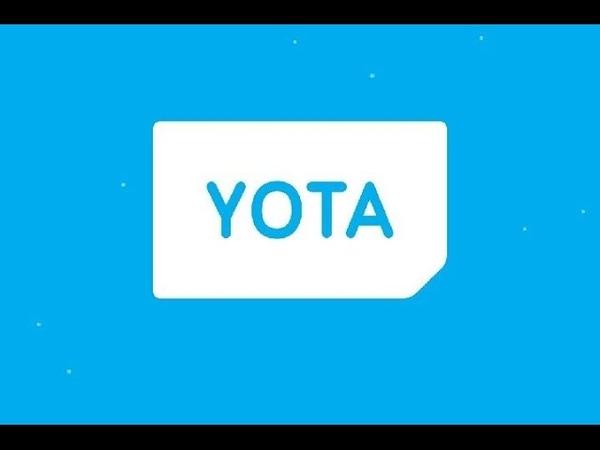 YOTA Все о сим карте YOTA Мобильный Оператор Yota