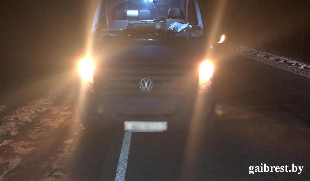 Микроавтобус сбил велосипедистку в Столинском районе