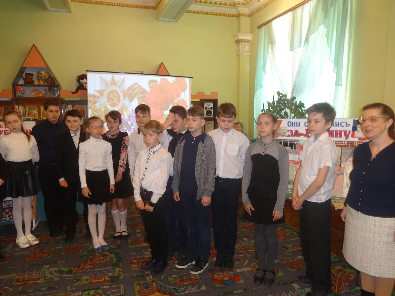 день победы, отдел обслуживания дошкольников и учащихся 1-4 классов, донецкая республиканская библиотека для детей, патриотическое воспитание