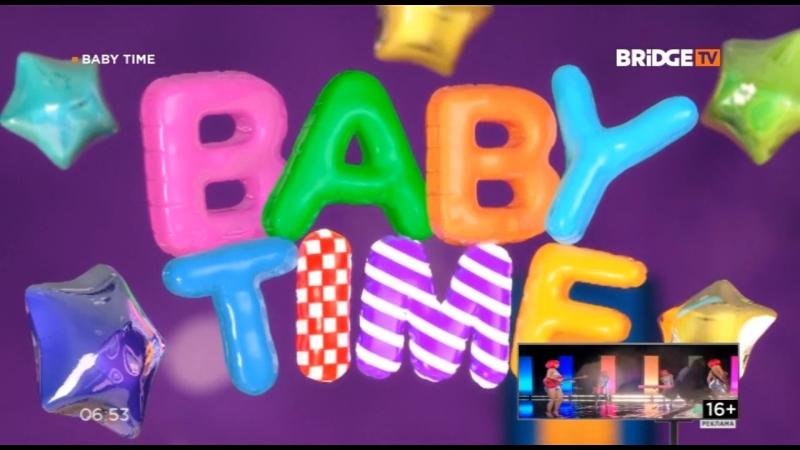 Фрагмент эфира BABY TIME НА BRIDGE TV 25 09 2018
