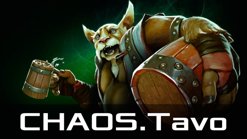 CHAOS.Tavo — Brewmaster, Offlane (Feb 9, 2019)   Dota 2 patch 7.21 gameplay