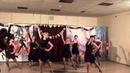 Solo latino, фрагмент отчетного концерта в школе Студия танцев Триумф