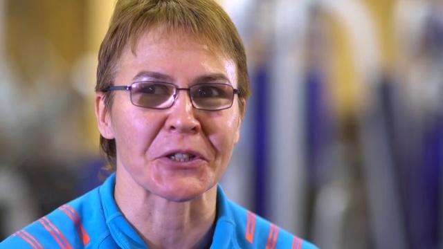 Новости на Россия 24 • Татьяна Савостьянова: больно, но терплю - до Олимпиады