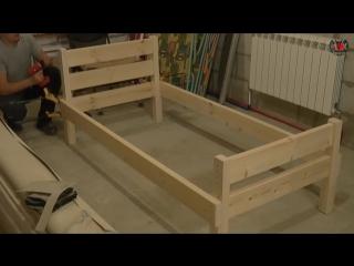 Кровать своими руками. Часть 1 - Столярная мастерская