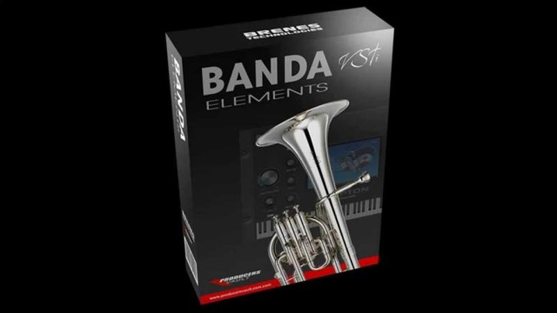 Banda Elements VSTi Sinaloense Samples Producers Vault Instrumento virtual metales VST AU descarga