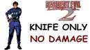 Resident Evil 2 Leon B Knife Only No Damage Rank A