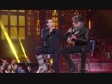 MARILYN MANSON and TYLER BATES - live in Italy on Italian TV Music Show at The Cinecitta (Rome) (30.11.17)