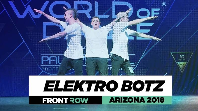 Elektro Botz | FrontRow | World of Dance Arizona 2018 | WODAZ18