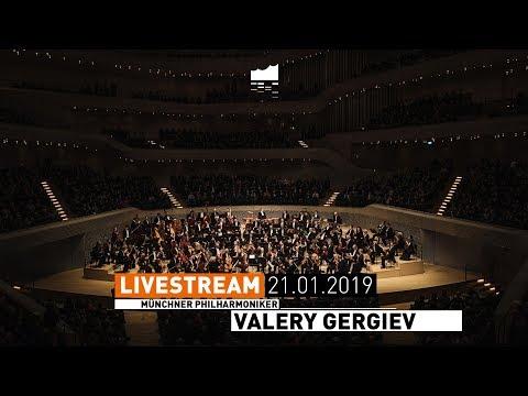 Elbphilharmonie LIVE Münchner Philharmoniker Valery Gergiev mit Strawinsky und Schostakowitsch