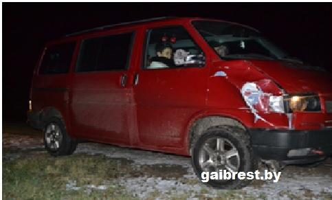 На трассе Р94 Брест-Домачево насмерть сбили пешехода